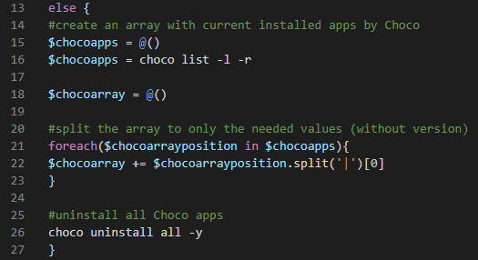 arrayforchocoapps