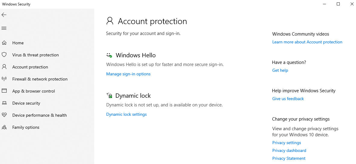 account-protection