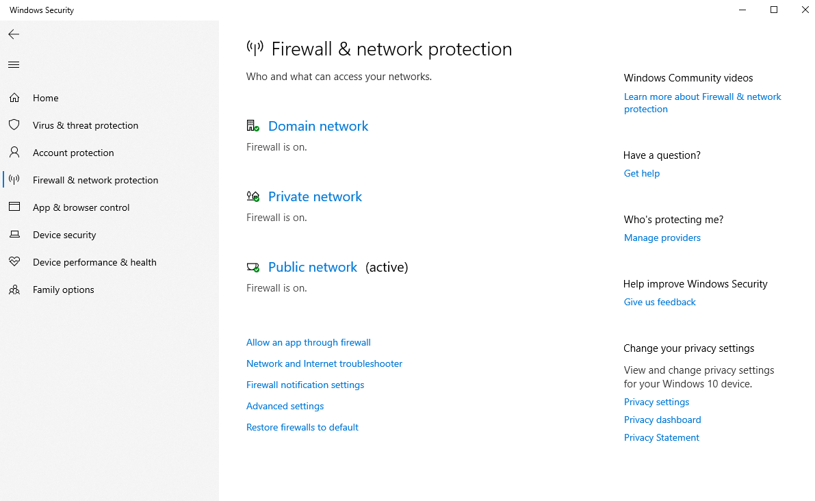 firewall-network-protection