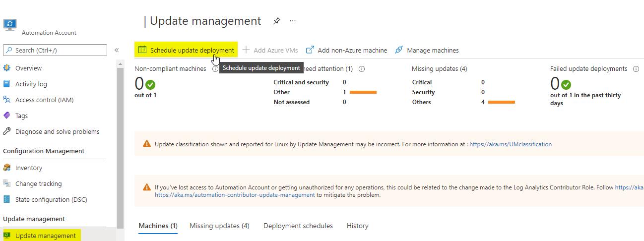 schedule-update-deployment